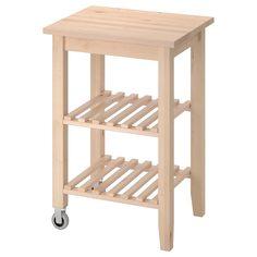 IKEA - БЕКВЭМ Столик с колесами ИКЕА