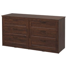 IKEA - СОНГЕСАНД Комод с 6 ящиками ИКЕА
