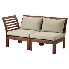 IKEA - ЭПЛАРО 2-местный модульный диван, садовый ИКЕА