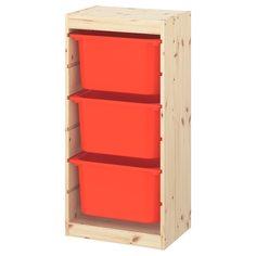 IKEA - ТРУФАСТ Комбинация д/хранения+контейнеры ИКЕА