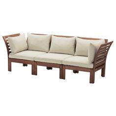 IKEA - ЭПЛАРО 3-местный модульный диван, садовый ИКЕА