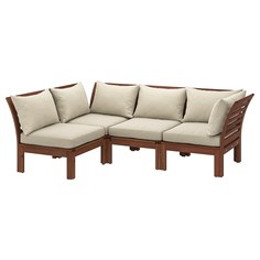 IKEA - ЭПЛАРО Модульный угл 3-мест диван, садовый ИКЕА