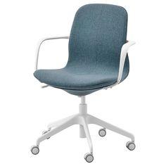 IKEA - ЛОНГФЬЕЛЛЬ Рабочий стул с подлокотниками ИКЕА