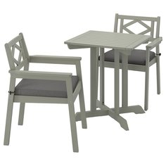 IKEA - БОНДХОЛЬМЕН Садовый стол и 2 легких кресла ИКЕА