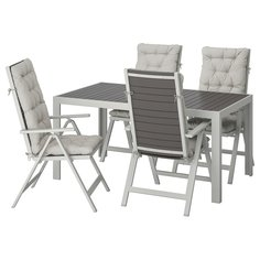 IKEA - ШЭЛЛАНД Стол+4 кресла, д/сада ИКЕА
