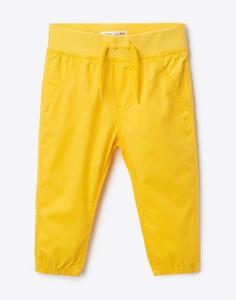 Жёлтые брюки-джоггеры для малыша Gloria Jeans