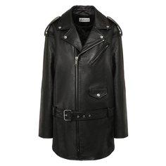 Куртки Balenciaga Кожаная куртка Balenciaga