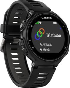 Спортивные часы Garmin Forerunner 735 XT (черно-серый)