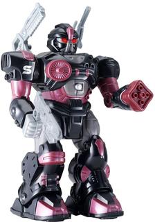 Интерактивная игрушка HAPPY KID Робот XSS 17.5 см (черно-красный)