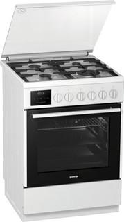 Комбинированная плита Gorenje K635E20WKE (белый)