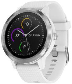Спортивные часы Garmin vivoactive 3 (серебристо-белый)