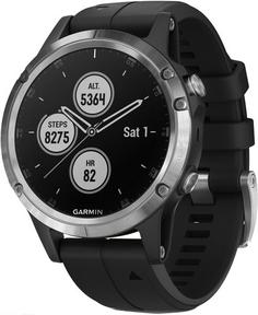 Спортивные часы Garmin Fenix 5 Plus Glass (010-01988-17)