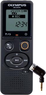Диктофон Olympus VN-541PC с микрофоном ME52 (черный)