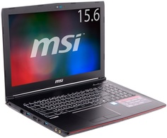 Ноутбук MSI GP62 6QF-466RU Leopard Pro (черный)