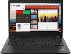 Ноутбук Lenovo ThinkPad T480s 20L7001MRT (черный)
