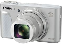 Цифровой фотоаппарат Canon PowerShot SX730 HS (серебристый)