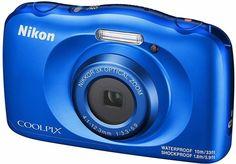 Цифровой фотоаппарат Nikon Coolpix W150 (синий)