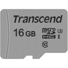 Карта памяти Transcend MicroSDXC 16GB UHS-I U1 (TS16GUSD300S-A)