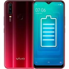 Смартфон vivo Y12 64 ГБ красный бургунди