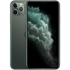 Смартфон Apple iPhone 11 Pro Max 256 ГБ тёмно-зелёный