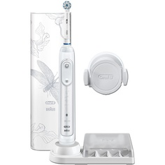 Электрическая зубная щетка Braun Genius 10000N/D701.515.6XC Lotus White