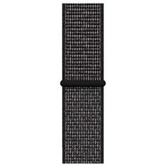 Ремешок для умных часов Apple Watch Nike Sport Loop 40 мм, черный (MX7Y2ZM/A)