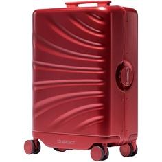 Электронный умный чемодан LEED Luggage Cowarobot, красный