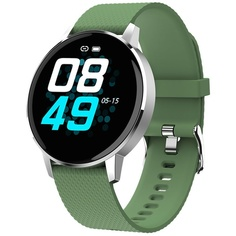 Смарт-часы GEOZON Sky Silver/Green (G-SM07SVRG)