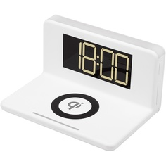 Электронные настольные часы MAX M10 белый
