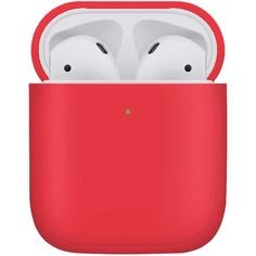 Чехол для AirPods VLP Plastic Case PCAP12-RD красный