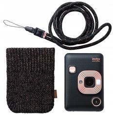 Фотоаппарат мгновенной печати Fujifilm Instax Mini LiPlay Elegant Black Bundle Hard