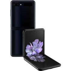 Смартфон Samsung Galaxy Z Flip 256 ГБ чёрный бриллиант