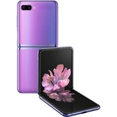 Смартфон Samsung Galaxy Z Flip 256 ГБ сияющий аметист