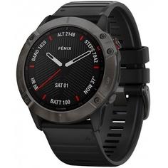 Смарт-часы Garmin FENIX 6X Sapphire Gray/Black (010-02157-11)