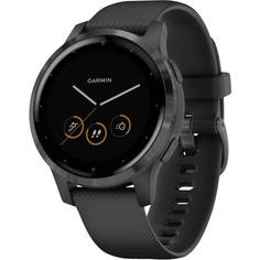 Смарт-часы Garmin Vivoactive 4S черные с серым безелем (010-02172-13)