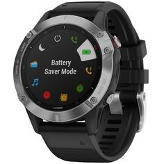 Смарт-часы Garmin FENIX 6 Sapphire Gray/Black (010-02158-11)
