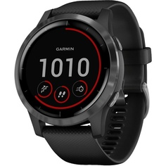 Смарт-часы Garmin Vivoactive 4 черные с серым безелем (010-02174-13)