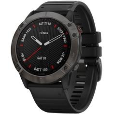 Смарт-часы Garmin FENIX 6X Pro Gray/Black (010-02157-21)