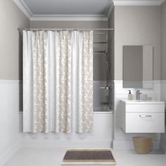 Штора для ванной IDDIS Basic 180x180, бежевая (B14P118i11)