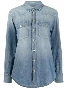Golden Goose джинсовая рубашка с длинными рукавами