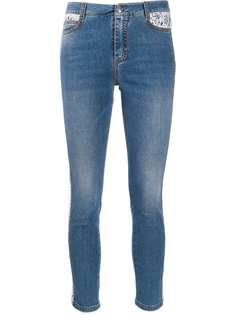 Ermanno Scervino укороченные джинсы с завышенной талией