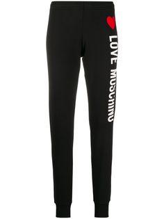 Love Moschino спортивные брюки с логотипом
