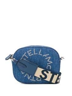 Stella McCartney джинсовая сумка через плечо с логотипом