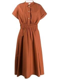 Paul Smith платье-рубашка с эластичным поясом
