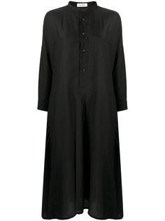 Plantation платье-трапеция на пуговицах