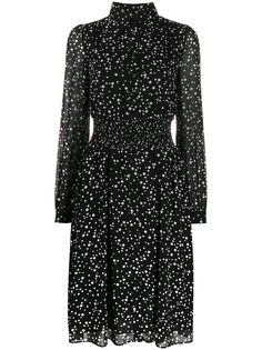 Michael Michael Kors платье-рубашка с принтом