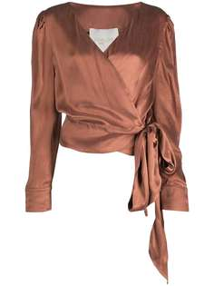 Envelope1976 блузка с запахом