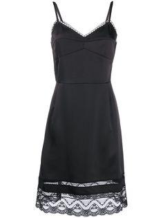 Marc Jacobs платье с кружевным подолом