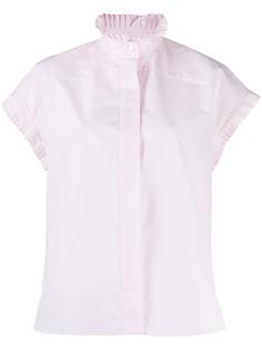 Alexandre Vauthier блузка с оборками на рукавах