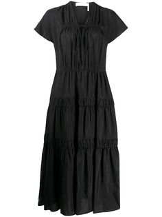 See by Chloé georgette long dress
